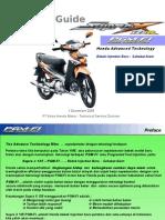 01.Sales Guide Supra X 125 PGM-FI