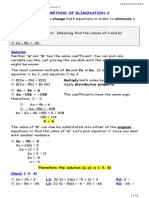08 - solving linear systems by elimination 2 student notes