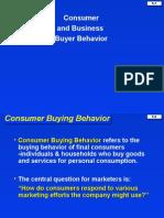 5. Consumer and Business Buyer Behavior