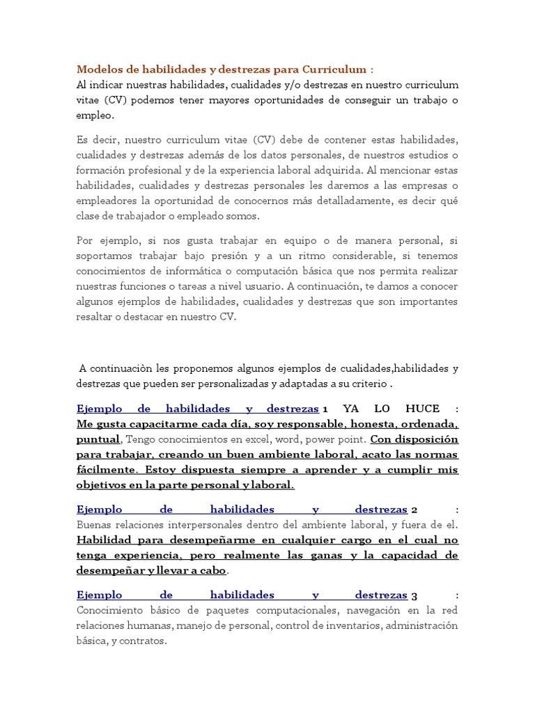 Modelos de habilidades y destrezas para Curriculum ABOGADO.docx