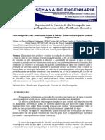 Produção e Análise Experimental de Concreto de Alto Desempenho Com Óleo de Coco Babaçu Magneticado Como Aditivo Plastificante Alternativo