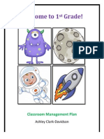 Classroom Management Plan