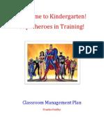 Effective Classroom Management Plan FF
