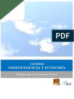 Cataluña. INDEPENDENCIA Y ECONOMIA