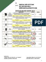 Lista 2 de Precios Digital Dvr Cctv Agosto 2015