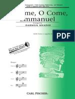 Darmon Meader - O come, o come, Emmanuel