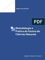 Metodologia e Prática Do Ensino de Ciências Naturais