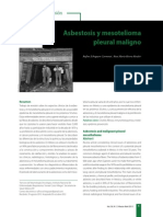 Abestosis y Mesotelioma Pleural Maligno