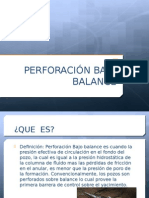 Perforacion Bajo Balance Expo Final