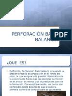 Perforacion Bajo Balance Expo Final