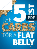 5 Best Carbs for a Flat Belly 110KTFT