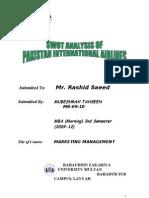 PIA SWOT Analysis (BZU Bahadar Sub Campus Layyah)