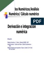Derivación e Integración Numérica