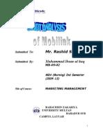 Mobilink SWOT Analysis