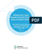 Mémoire Guide Boues 2014