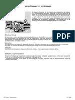 Actros 2 - A71 - Bloqueo Diferencial Eje Trasero