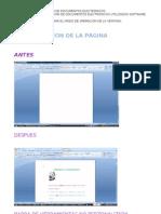 Practica 4 Configuracion de La Pagina