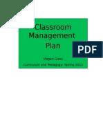 Management Plan 2