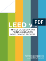 LEED v4 Impact Category and Point Allocation Process_Overview_0