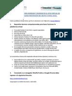 Instrucciones Del Aula Virtual, Diplomado CESC