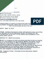 Mohawk Nation Notice of Seizure