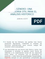 """Joan w.scott """"El género una categoría útil para el análisis histórico"""""""