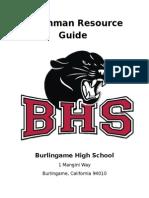 Freshman Resource Guide_REV