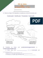 Ficha EM- Estado Da Água