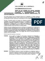 Circular Administrativa 001-12 Debido Prceso 2012