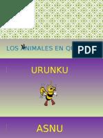 Los Animales en Quechua