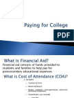 Financial Aid & Scholarship Parent Presentation15 16