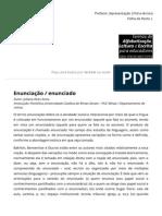 Enunciação _ enunciado _ Glossário Ceale