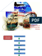 Analysis of Indian Logistics Sector
