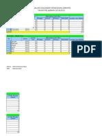 Analisis Kalender Pendidikan Tahun Pelajaran 2014-2015 Untuk Kelas Viii Smp-mts-smplb