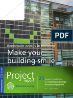 Renewable energy in buildings - Make your building smile