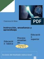 Componentes Del Diseño de Instrucción