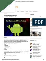 Configurando APN No Android (Vivo, Claro, Tim, Oi) _ MobilidadeFM