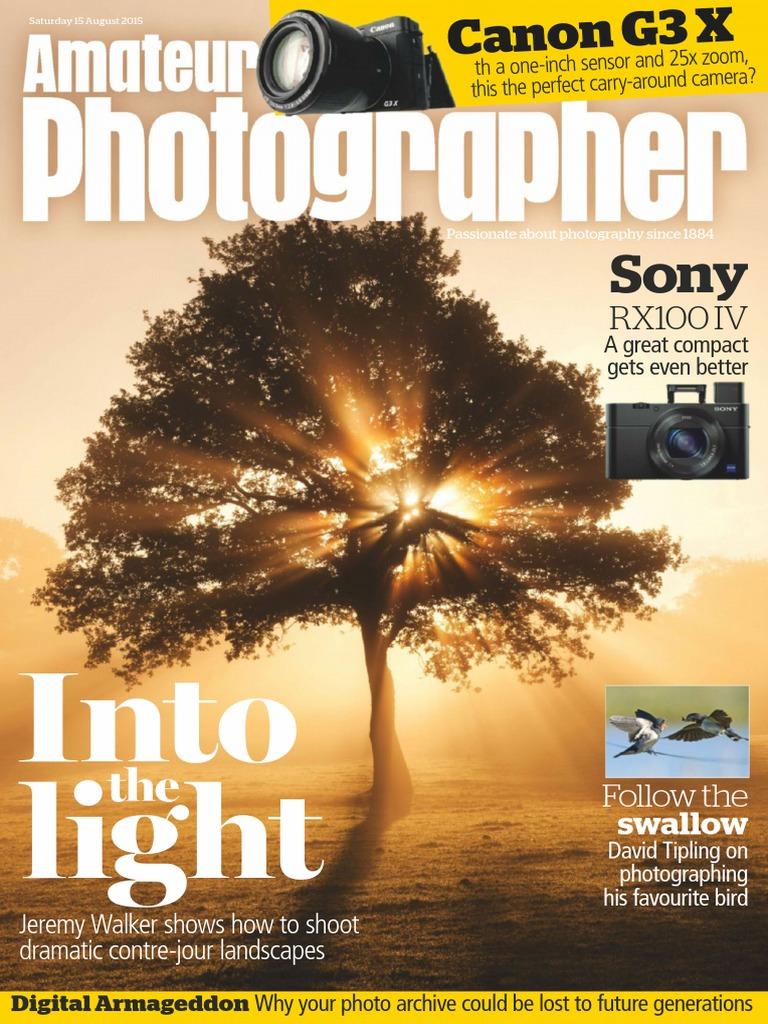 Amateur Photographer - 15 August 2015   Camera Lens   Digital Single