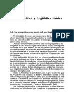 (071-097) I. 2. Pragmática y Lingüística Teórica