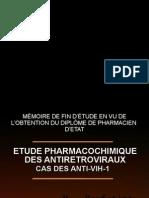 Etude Pharmacochimique Des Antiretroviraux