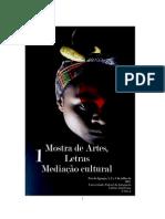 Catalogo Mostra de Letras Artes e Mediação Cultural