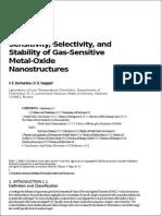 Metal Oxide Detector