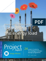 Energy efficiency in industry - Lightening the energy load