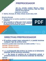 Directivas Preprocesador