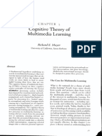 00pp 2005 - Cognitive Theory of Multimedia Learning