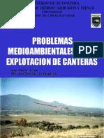 Canteras - Problemas