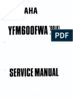 Yfmgoofwa '97(k) Service Manual 01997 by Yamaha