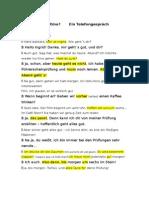 Sich Verabreden Dialog Modell-1