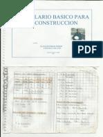 FORMULARIO BÁSICO PARA LA CONSTRUCCION