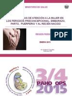 Presentacion Guia Prenatal 2013